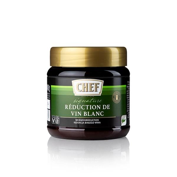 Chef Fond Premium - Chef Premium Konzentrat - Weißwein Reduktion für ca.12 Liter