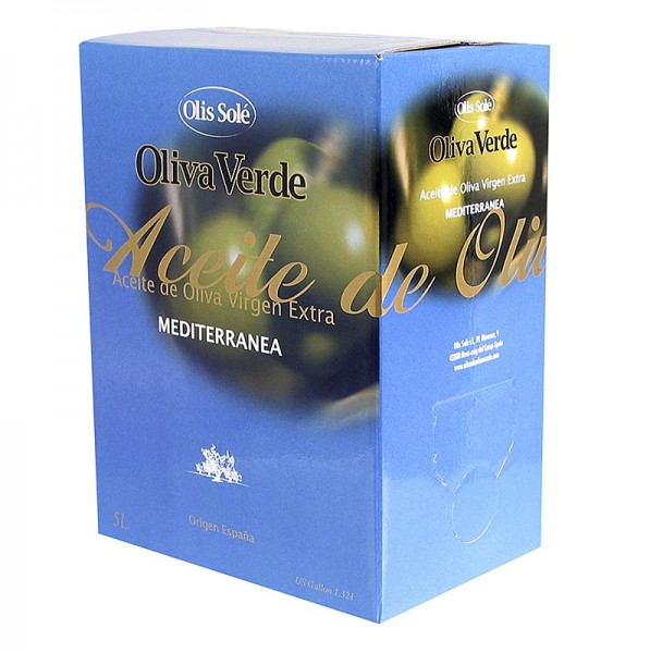 Olis Sole - Olivenöl Extra Vergine Selezione Mediterranea Oliva Verde
