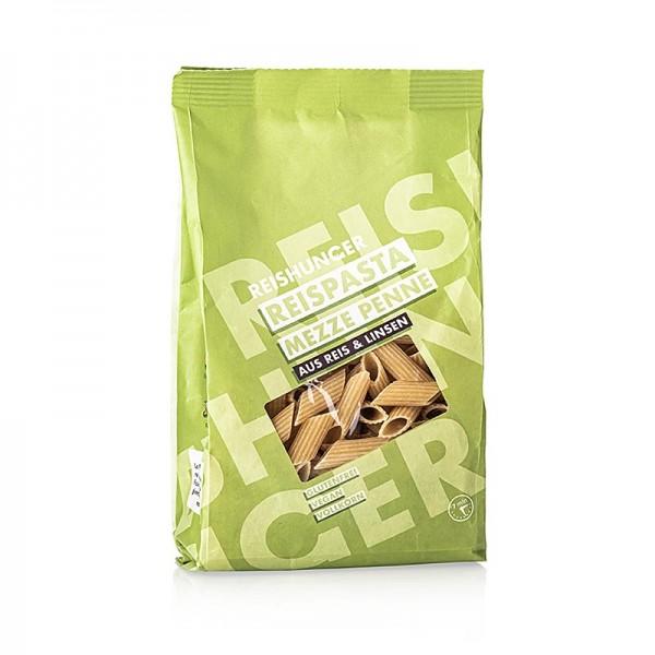 Reishunger - Reispasta - Mezze Penne aus Linse & Reis Reishunger