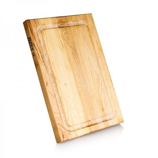 Boos - Boos Block Schneidebrett BBQ BD aus Ahorn 45.7x30.5x3.8cm mit Ablaufrinne