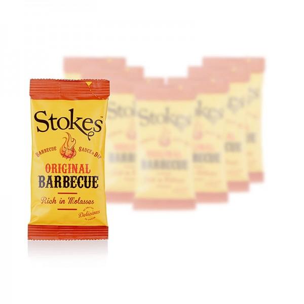 Stokes - Stokes BBQ Sauce Original rauchig & süß Portionsbeutel