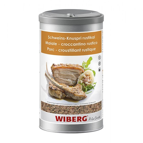 Wiberg - Schweins-Knuspri rustikal Gewürzsalz