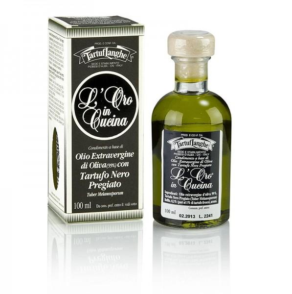 Tartuflanghe - L´Oro Olivenöl Extra Vergine mit Wintertrüffel & Aroma (Trüffelöl) Tartuflanghe