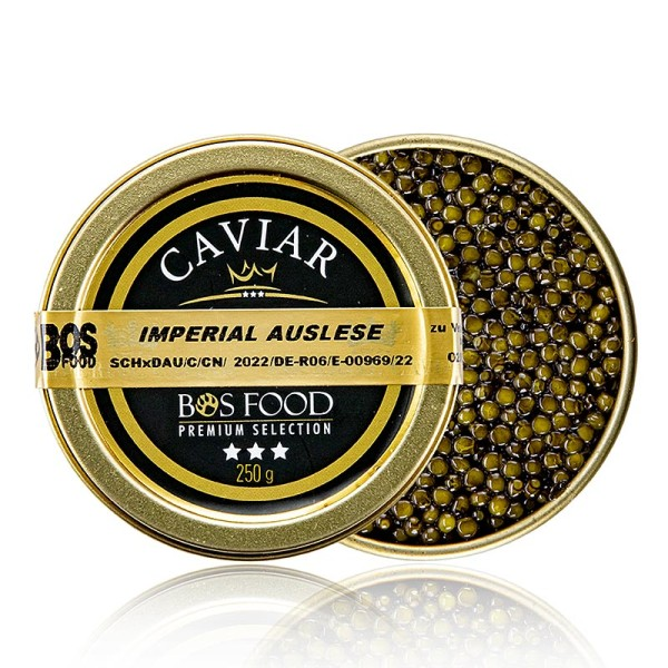 Imperial Auslese - Imperial Auslese Kaviar Kreuzung Amur x Kaluga Stör (schrenckii x dau) China