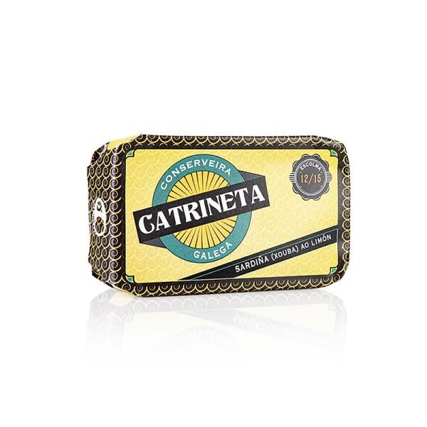 Catrineta - Sardinen in Olivenöl und Zitrone ganz - sardina ao limón