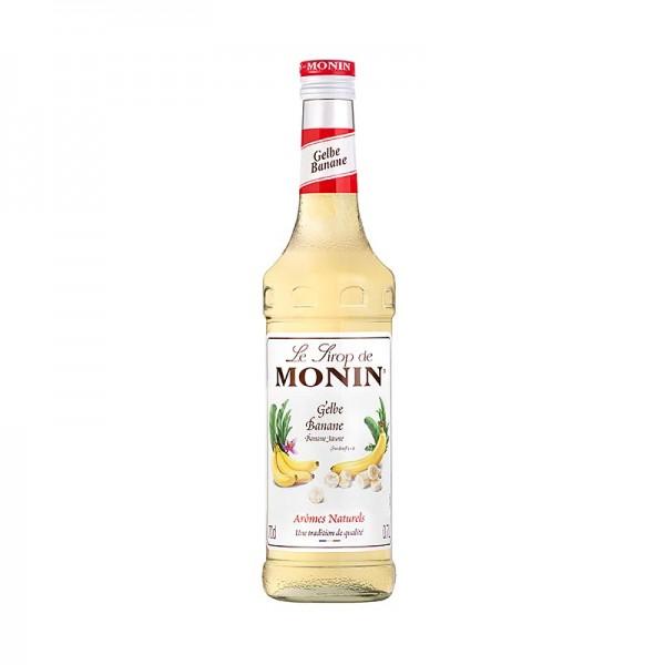 Monin - Gelbe Bananen-Sirup