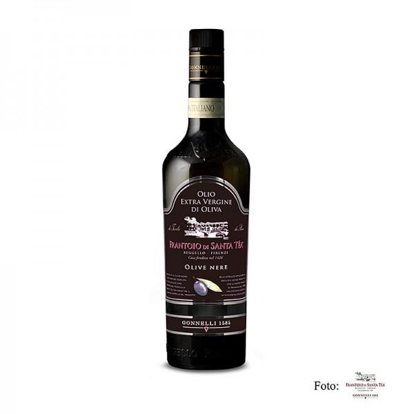 Santa Tea - Dolce Delicato Olivenöl Extra Vergine schwarze Oliven Santa Tea Gonnelli