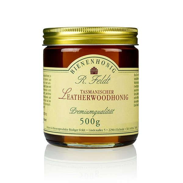 R. Feldt Bienenhonig - Leatherwood-Honig Tasmanien braun flüssig - cremig aromatisch exotisch