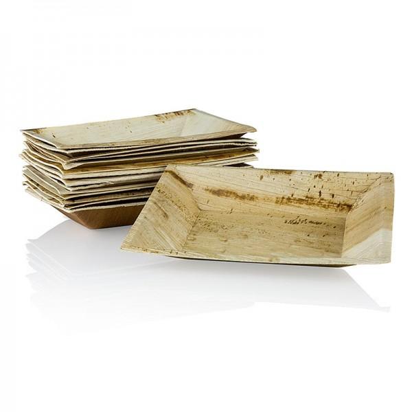 Deli-Vinos Kitchen Accessories - Einweg Palmblattteller eckig 12x17cm 100% kompostierbar