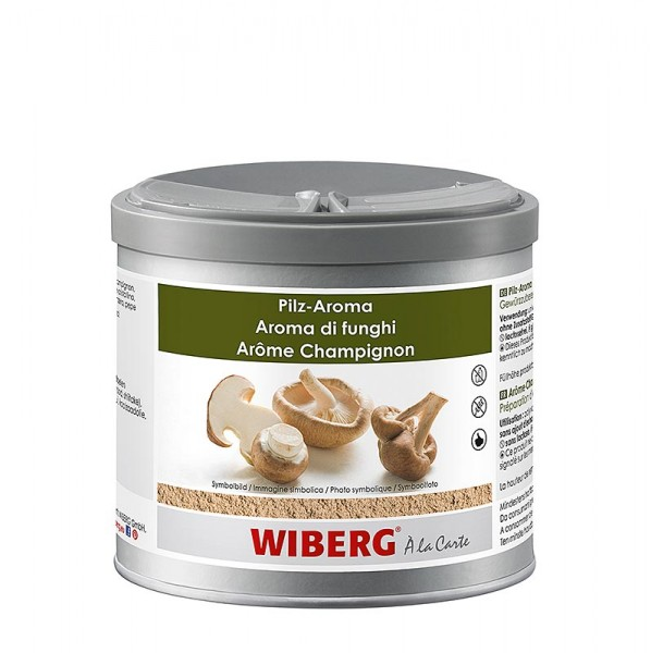 Wiberg - Pilz-Aroma Gewürzzubereitung mit Steinpilzen Champignons Shiitake