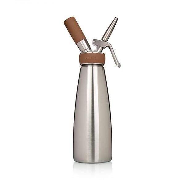 ISI Nitro Whip - Espuma Sprayer komplett Edelstahl 1 Liter ISI Nitro Whip (Stickstoff) (1790)