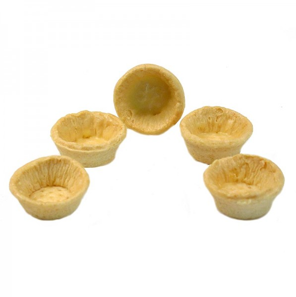 Hug - Snack-Tartelettes rund ø 4.2cm hell salzig