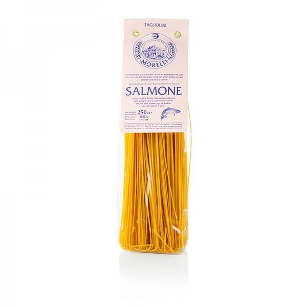 Morelli 1860 - Nudeln Tagliolini Salmone (mit Lachs & Weizenkeimen) Morelli 1860
