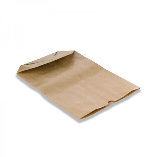 Pacovis - Kreuzbodenbeutel Papier braun 28x19x7mm