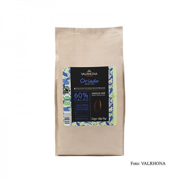 Valrhona - Valrhona Oriado Couverture Dunkel Callets 60% Kakao BIO