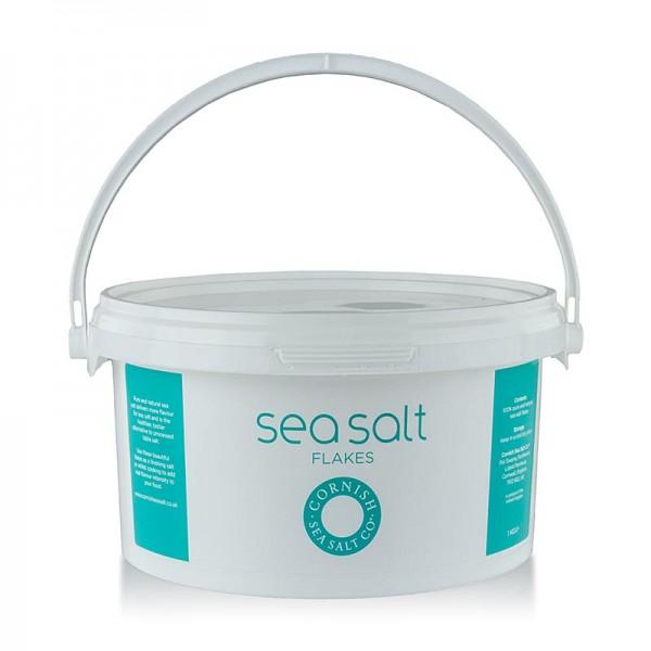 Cornish Sea Salt - Cornish Sea Salt grobe Meersalzflocken aus Cornwall/England