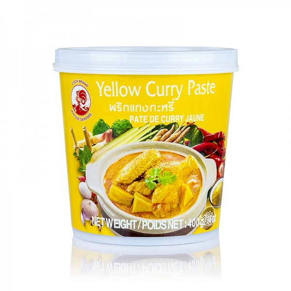 Cock Brand - Curry Paste gelb Cock Brand