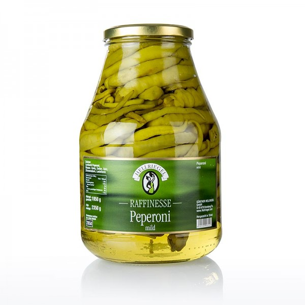 Haldi - Eingelegte Peperoni - Picanterie mild Hellriegel