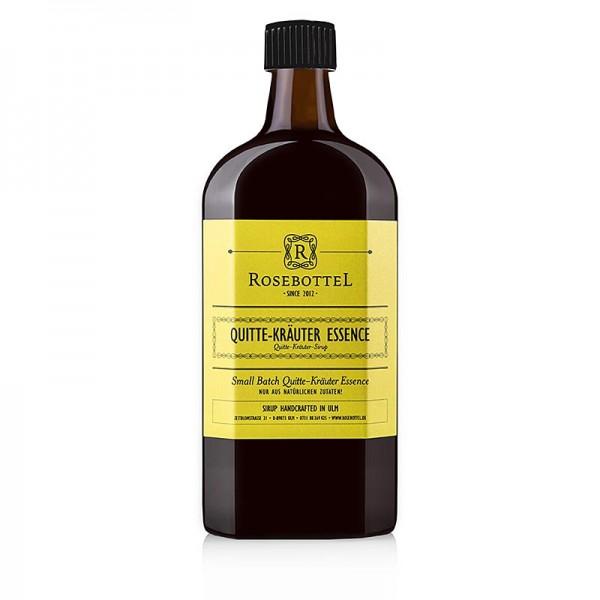 Rosebottel - Rosebottel Quitte Kräuter Essence (Essenz) Sirup
