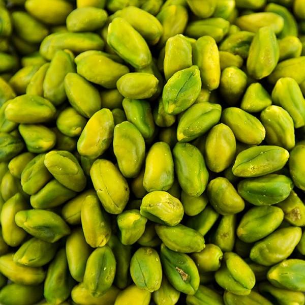 Deli-Vinos Snack Selection - Pistazien geschält hellgrün B+ Sortierung