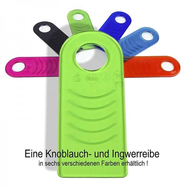 Rub it - Rub it Knoblauch und Ingwerreibe Kunststoff in verschiedenen Farben