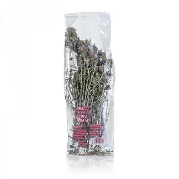 Gewürzgarten Selection - Wilder Thymian ganze Zweige mit Blüten getrocknet Taste Greece