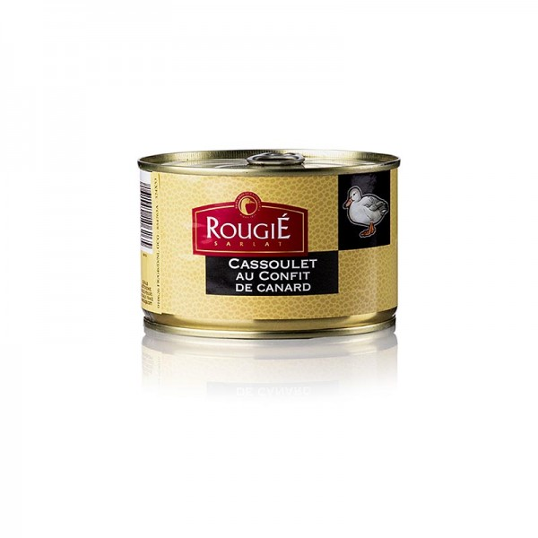 Rougie - Entencassoulet mit weißen Bohnen & zartem Entenconfit-Fleisch Rougié