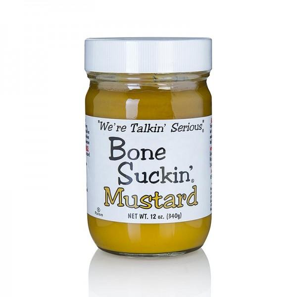 Bone Suckin' - Bone Suckin´ Mustard Regular (mild) BBQ Senf Ford´s Food