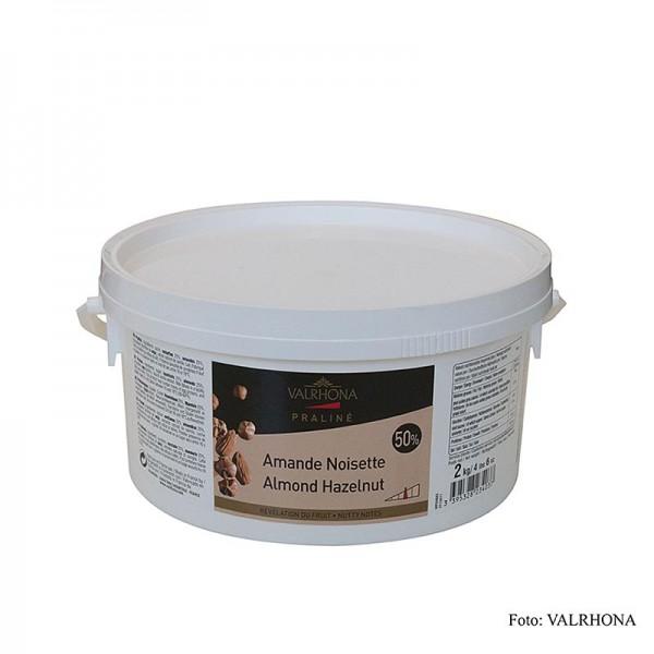 Valrhona - Valrhona Praliné Masse 25% Haselnuss & 25% Mandel 2 kg (19971)