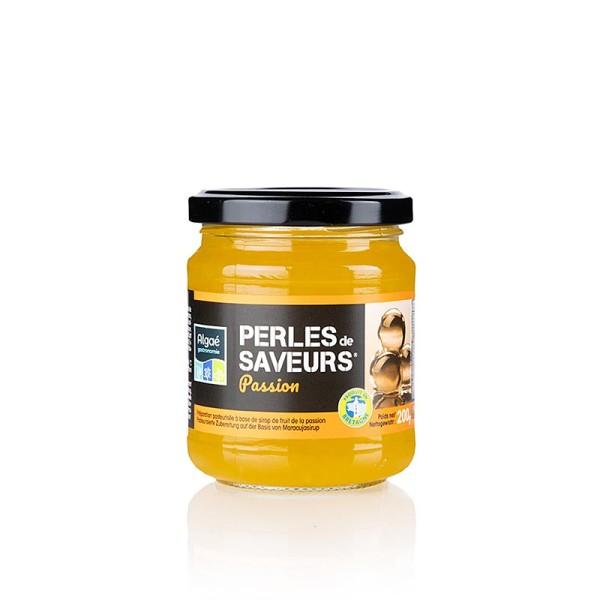 Les Perles - Fruchtkaviar Passions/Maracuja Perlgrösse 5mm Sphären Les Perles