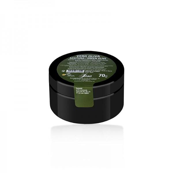 Sosa - Sosa Lebensmittelfarbe Olivgrün Puder wasserlöslich