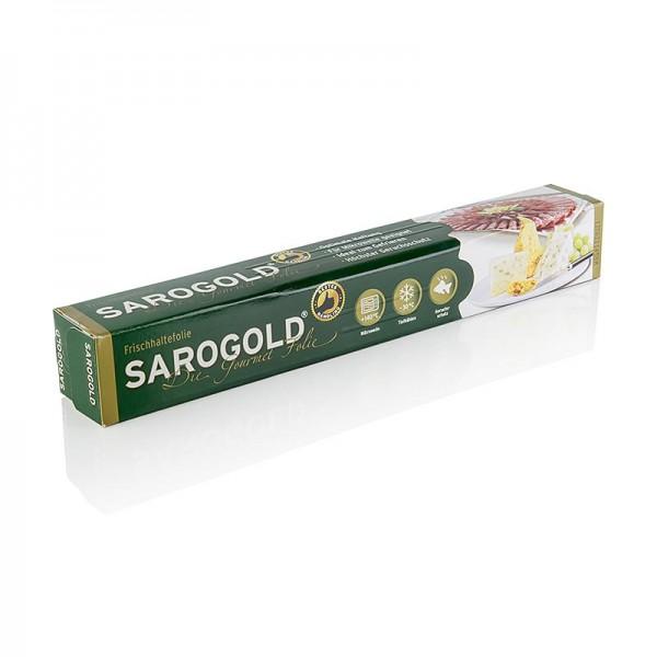 Sarogold - SAROGOLD Gourmet-Folie 30cm x 20m