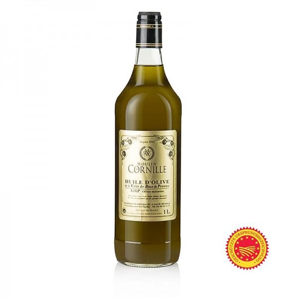 Baux de Provence - Natives Olivenöl Fruité Noir mild-süßlich Baux de Provence g.U. Cornille
