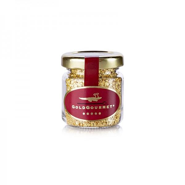 Goldgourmet - Gold - Blattgoldflocken klein 22 Karat E175