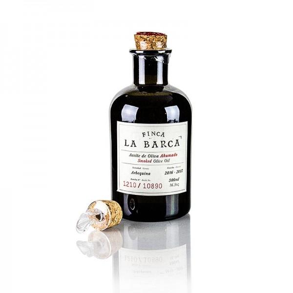 Finca La Barca - Geräuchertes Olivenöl 100% Arbequina Finca La Barca (Geschenkbox)