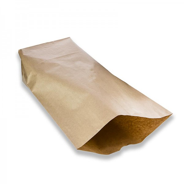 Pacovis - Kreuzbodenbeutel Papier braun 44x28x1cm