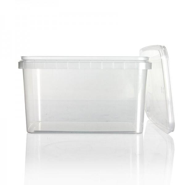 Deli-Vinos Kitchen Accessories - Kunststoffdose RectAcup rechteckig mit Deckel 191x128x160mm 1800 ml