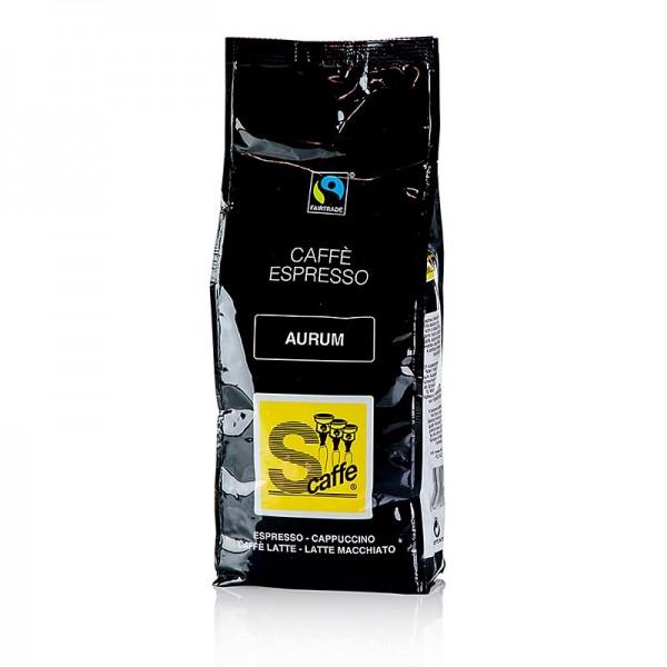 Schreyögg Kaffee - Schreyögg Kaffee Caffè Espresso Aurum Flo ganze Bohnen Fair Trade