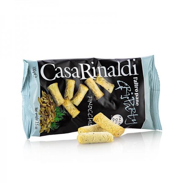 Casa Rinaldi - Grisparty - Mini Grissini Knabbergebäck mit Fenchelsamen Casa Rinaldi