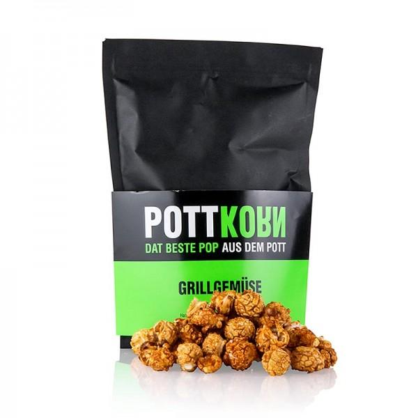 Pottkorn - Pottkorn - Grillgemüse Popcorn mit BBQ Rauchpaprika
