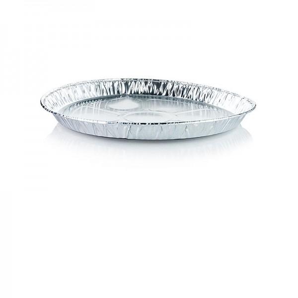 Deli-Vinos Kitchen Accessories - Aluschalen Einweg Rund Ø 27cm 2.2cm Hoch
