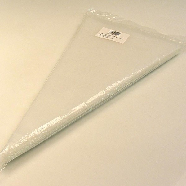 Deli-Vinos Kitchen Accessories - Spritzbeutel Einweg ca. 50cm lang ca. 25cm Öffnung 75µ