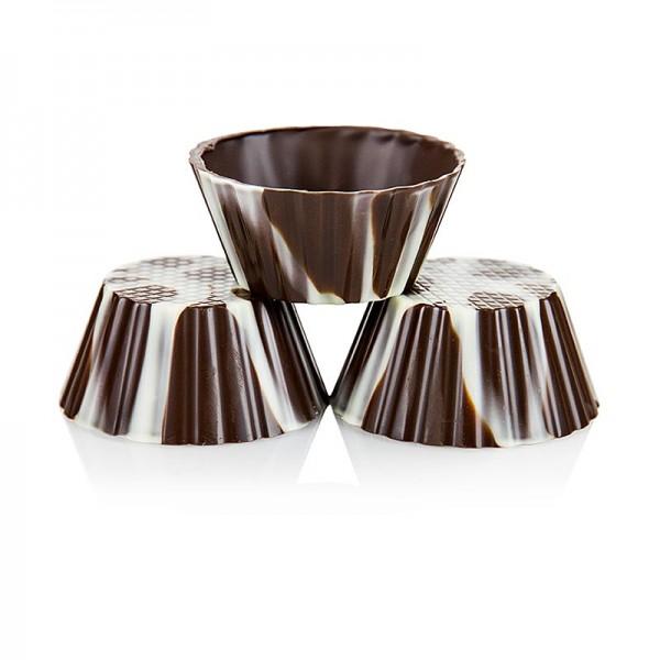 Deli-Vinos Patisserie - Schokoform - Victorias marmoriert ø 40-65mm 30mm hoch
