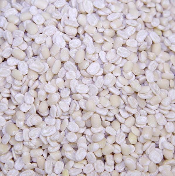 Deli-Vinos Legumes - Linsen weiß Urid-Dal/ Uridbohnen geschält halbiert