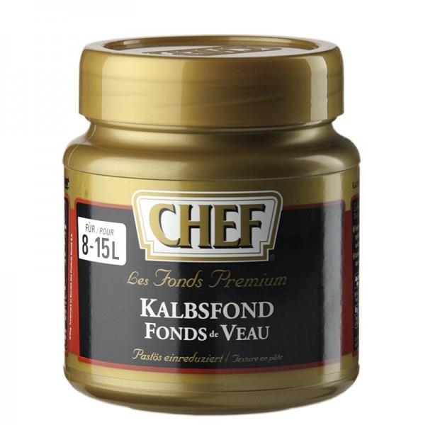 Chef Fond Premium - CHEF Premium Konzentrat - Kalbsfond leicht pastös dunkel für 8-15 L