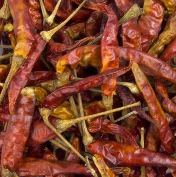 Deli-Vinos Legumes - Chili Schoten rot klein ganz getrocknet