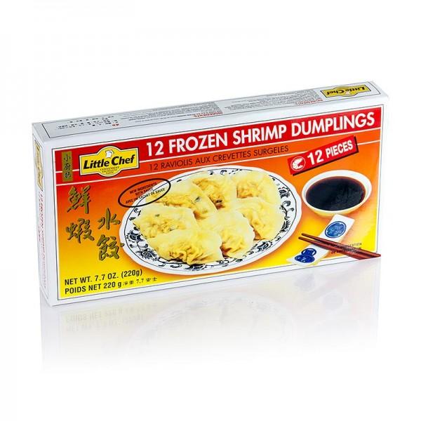 Deli-Vinos Asia - Wan Tan - Gyoza Teigtaschen mit Shrimpsfüllung (Garnelen Surimi) TK