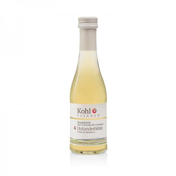 Kohl Gourmet - ESSENCE Bergapfelsaft + Holunderblüte