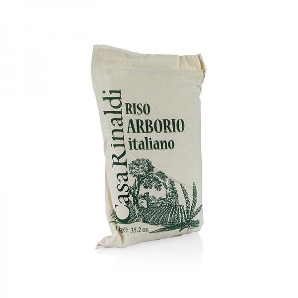Arborio Superfino - Arborio Superfino Risotto Rundkornreis 1 kg Casa Rinaldi