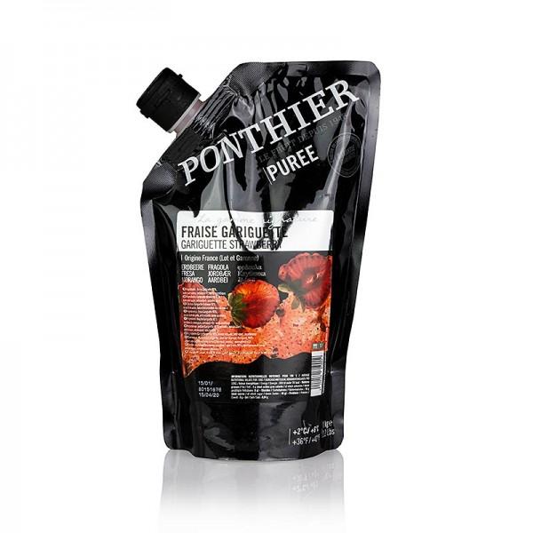 Ponthier - Püree- Erdbeere Gariguette mit Zucker